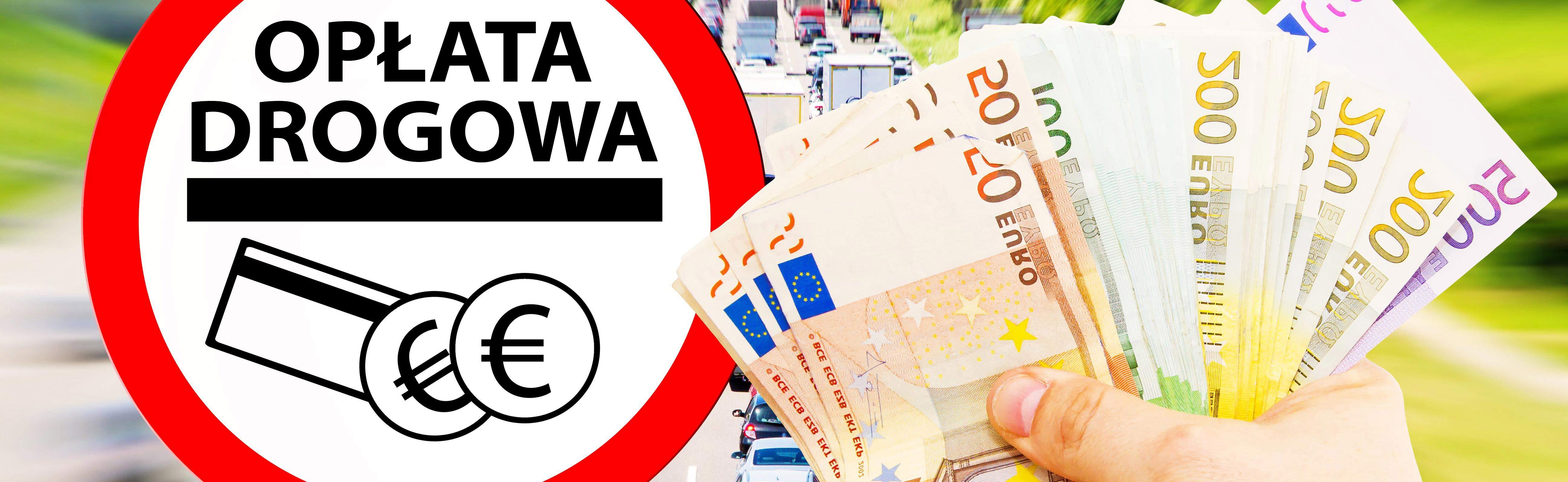 Rozliczanie opłat drogowych - symboliczna reprezentacja