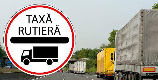 Semne taxe de drum - taxe de drum pentru vehicule grele de marfă în Germania