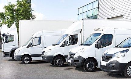 UTA-servicefuncties voor voertuigen onder 3.5 t
