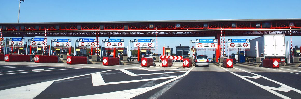 Toll fees in France - without settling charges at the toll plaza
