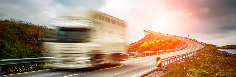 Motorway tolls for HGVs in Norway
