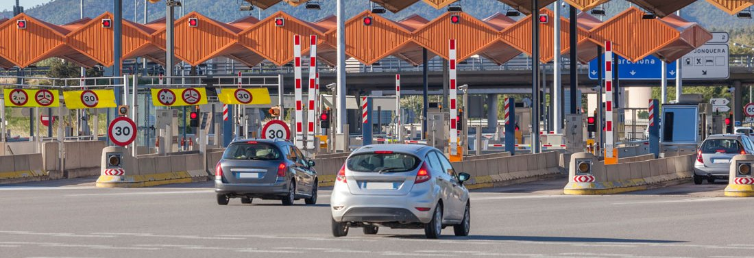 Toll charges in Spain - without settling charges at the toll plaza