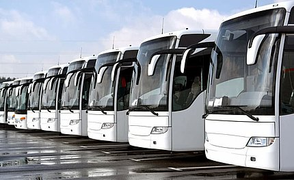 Služby UTA pro autobusy a flotily autobusů