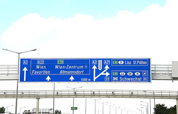 Motorway tolls in Austria