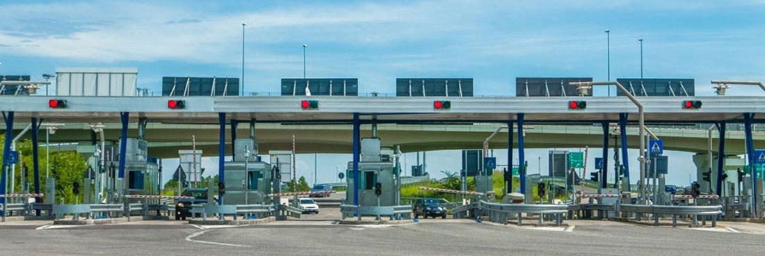 Mýtné v Itálii - bez placení mýtného na mýtné bráně