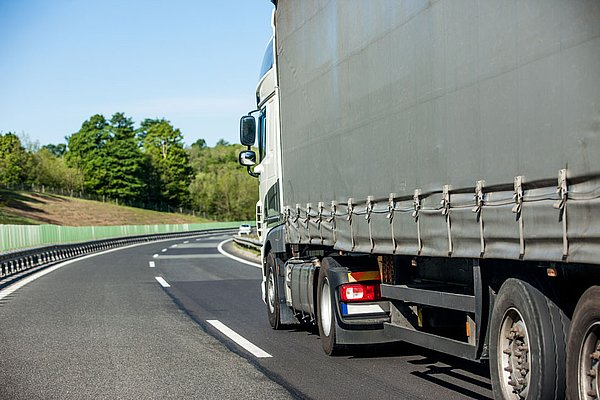 HGV toll on the motorway in Slovenia