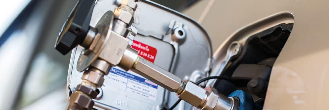 Sűrített földgáz (CNG)