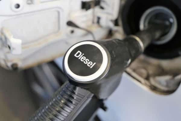 Tankowanie oleju napędowego