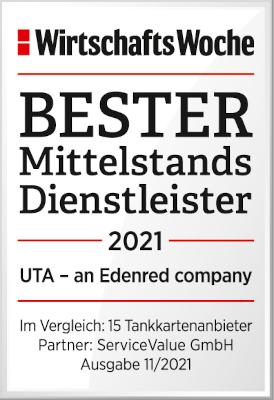 Nejlepší poskytovatel služeb UTA pro středně velké podniky